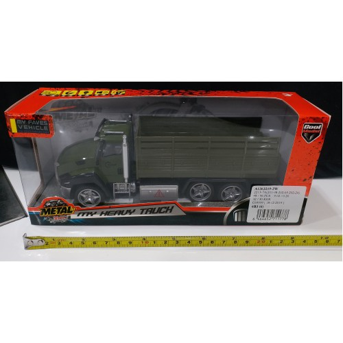 Toyslido 軍事運輸車仔 特價陳列樣辦玩具 (3歲以上適用)