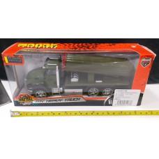 Toyslido 導彈運輸車仔 特價陳列樣辦玩具 (3歲以上適用)
