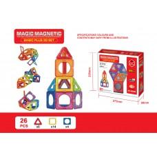 磁石積木玩具 套裝 (26塊)