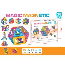 磁石積木玩具 套裝 (30塊)