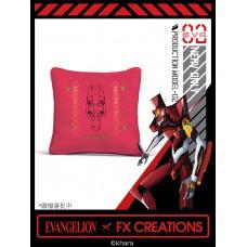 新世紀福音戰士 2號機方形綉花攬枕