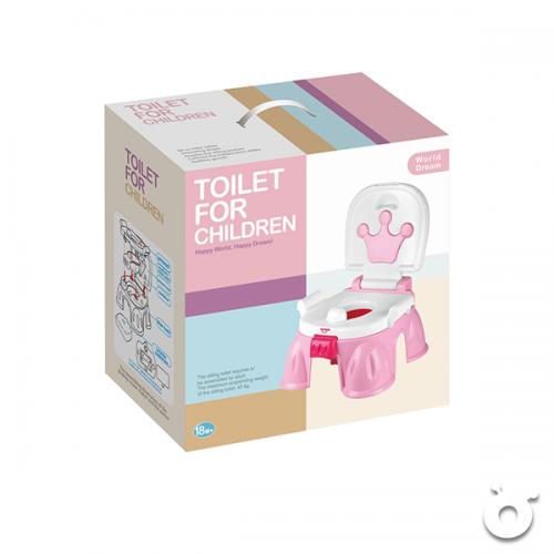 兒童學習座廁(粉紅色)