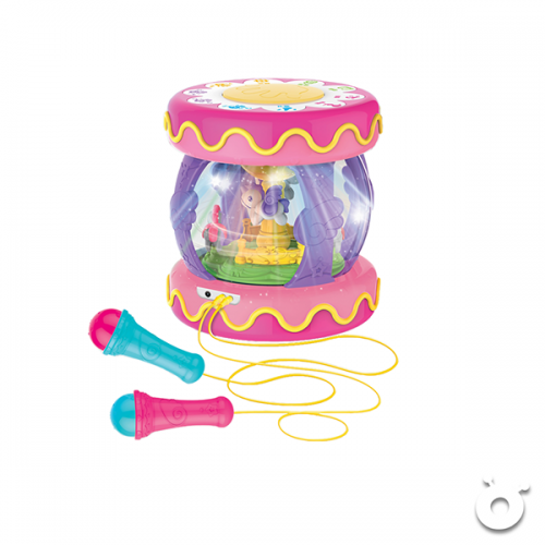 Carousel Music Drum (with microphone)