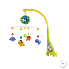 2 in 1 Dreamful Rotate Bed Ring & Animals Rattles Toys Set