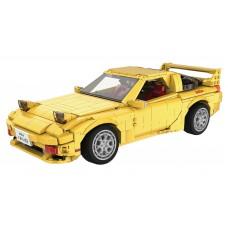 (現貨) Toyslido 頭文字D 高橋啟介 萬事得Mazda-FD3S  RX-7 積木模型車 套裝 (連遙控車套裝) 益智兒童玩具 - 1655塊 (8歲以上適用)