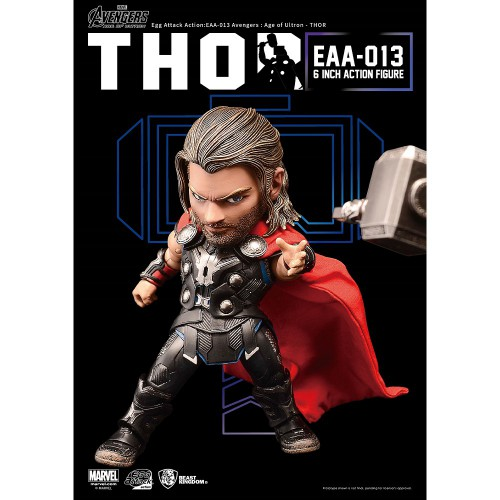 Beast Kingdom- Captain America: Civil War Egg Attack Action:  Thor Figure