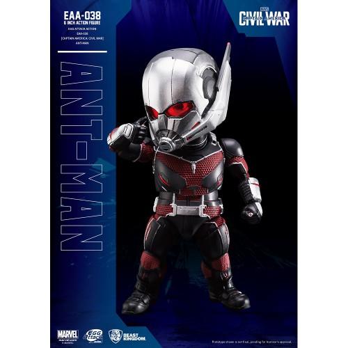 Beast Kingdom- Captain America: Civil War Egg Attack Action: Ant-man Figure
