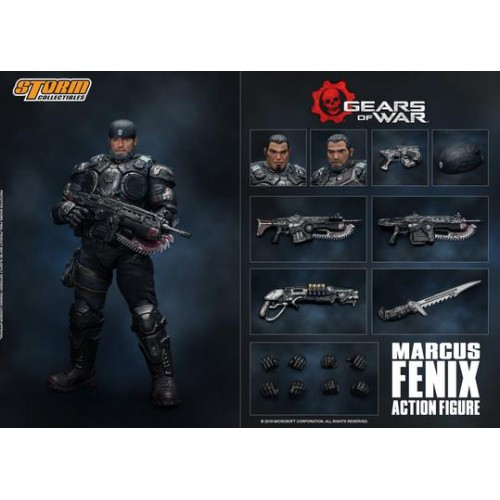 Storm Collectibles Gears of War - Marcus Fenix
