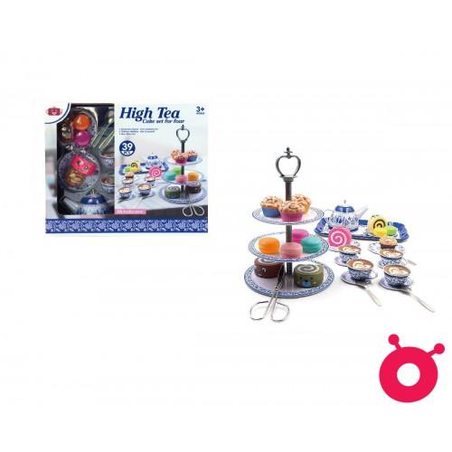 High Class English Afternoon Tea Toy Set - 39pcs (Blue)