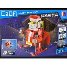 (現貨) Toyslido 電動積木聖誕老人&聖誕雪橇配智能聲光感應電機  益智兒童玩具 - 439塊 (6歲以上適用)