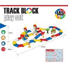 145塊 DIY 軌道玩具套裝