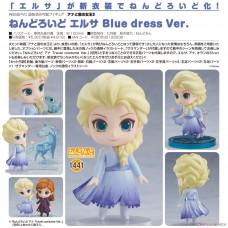 (預訂商品: 10月11日截訂, 訂金:100, 訂價: 359 ) 黏土人 冰雪奇緣2 愛莎 Blue Dress Ver. 可動人偶