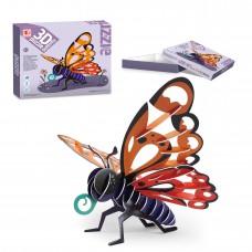 3D蝴蝶拼圖