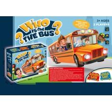Toyslido 猜猜誰在巴士上 合家歡 派對 遊戲 桌遊 (3歲以上適用)