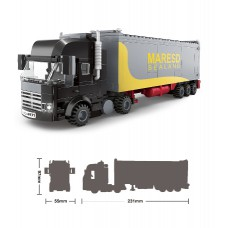 集裝箱卡車 積木  (352塊)