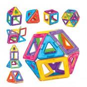 磁石積木片