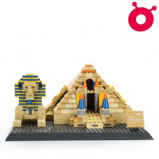 Great Pyramid of Giza - World Famous Architecture Block Series