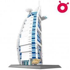 Burj Al Arab Jumeirah - World Famous Architecture Block Series