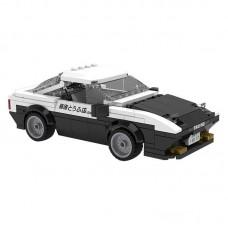 (現貨) Toyslido 頭文字D 藤原拓海 1:24 Toyota AE86 Trueno 積木模型車  益智兒童玩具 -  280塊 (8歲以上適用)