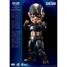 Beast Kingdom- Captain America: Civil War Egg Attack Action: Captain America Figure