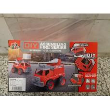 DIY 消防車 (可自行組裝) 特價陳列樣辦玩具