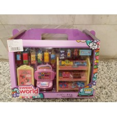 Convenience Store Set Discount Sample Display Toy