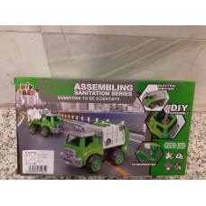 DIY 垃圾車 (可自行組裝) 特價陳列樣辦玩具
